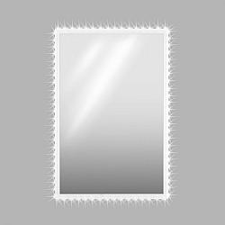 OneConcept Goldmund, LED krištáľové nástenné zrkadlo, 120x80, infračervený senzor, 30 LED/meter