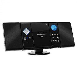 OneConcept V-12, stereo zariadenie, čierne, MP3, CD, USB, SD