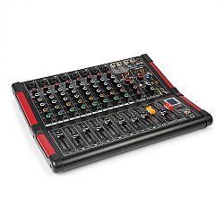 Power Dynamics PDM-M804, mixážny pult, 8 mikrofónových vstupov, 24-bit multi-FX-procesor