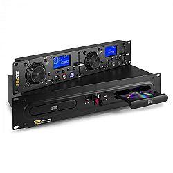 Power Dynamics PDX350, duálny DJ-CD/USB-prehrávač-ovládač, CD/USB/MP3, čierny