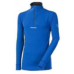 Progress WSTRZ 1/2 modrá XXL - Pánske funkčné termo tričko