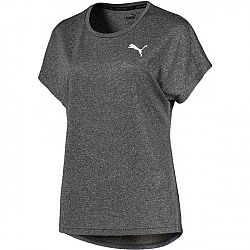 Puma ACTIVE MESH HEATHER TEE biela M - Dámske športové tričko