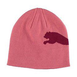 Puma BIG CAT BEANIE JNR ružová UNI - Juniorská zimná čiapka