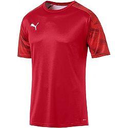 Puma CUP TRAINING JERSEY červená XL - Pánske športové tričko