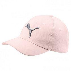 Puma ESS CAP JR ružová YOUTH - Detská šiltovka