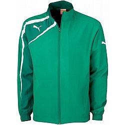 Puma SPIRIT WOvoN JACKET zelená XL - Športová bunda