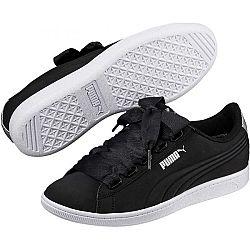 Puma VIKKY RIBBON BSQ čierna 6.5 - Dámska voľnočasová obuv