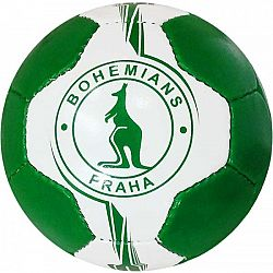 Quick MINI BOHEMIANS biela  - Mini futbalová lopta
