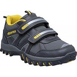 Reaper RENZO šedá 35 - Detská voľnočasová obuv