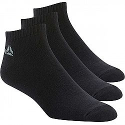 Reebok ACTIVE CORE INSIDE SOCK 3P čierna 35-38 - Športové ponožky