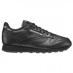 Reebok CL LTHR  INT čierna 7.5 - Pánska obuv
