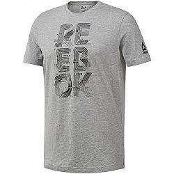 Reebok GS FUTURISM REEBOK CREW čierna XL - Pánske tričko
