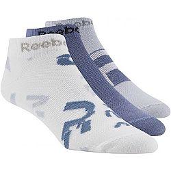 Reebok RUN CLUB WOMENS 3P SOCK biela 35-38 - Dámske ponožky
