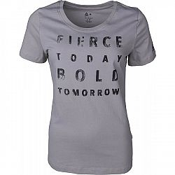 Reebok WOMENS OPP 4 fialová XS - Dámske športové tričko