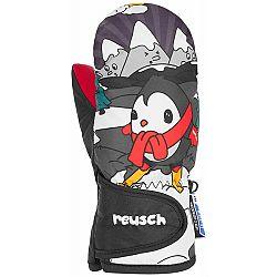 Reusch SNOWY R-TEX XT MITTEN šedá 2 - Detské lyžiarske rukavice