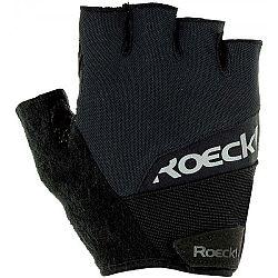Roeckl BOZEN čierna 6 - Cyklistické rukavice