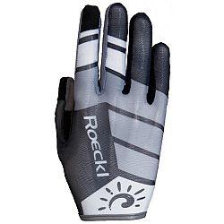 Roeckl MAYO šedá 9 - Cyklistické rukavice