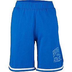 Russell Athletic CHLAPČENSKÉ ŠORTKY STAR USA modrá 140 - Chlapčenské šortky