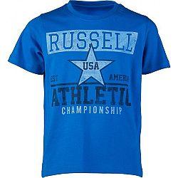 Russell Athletic CHLAPČENSKÉ TRIČKO CHAMPIONSHIP modrá 116 - Chlapčenské tričko