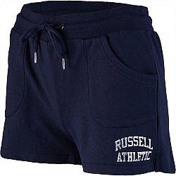 Russell Athletic CLASSIC PRINTED SHORTS tmavo modrá XS - Dámske šortky
