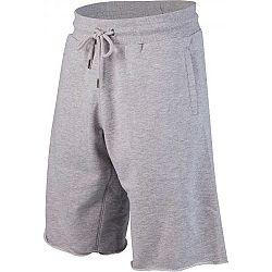 Russell Athletic CLASSIC RAW EDGE ENHANCED PRINTED  SEAMLESS SHORTS šedá S - Pánske šortky