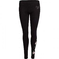 Russell Athletic FLORAL LEGGINGS čierna XS - Dámske legíny