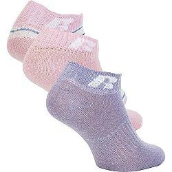 Russell Athletic KIDS ANKLE SOCK 3 PÁRY ružová 29-31 - Detské ponožky