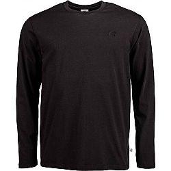 Russell Athletic L/S CREWNECK TEE SHIRT čierna L - Pánske tričko