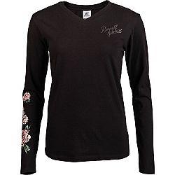 Russell Athletic L/S CREWNECK TEE SHIRT čierna XL - Dámske tričko