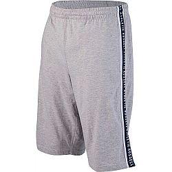 Russell Athletic PANEL PRINTED SHORTS šedá S - Pánske šortky