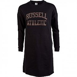Russell Athletic PRINTED DRESS čierna S - Dámske šaty