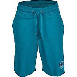 Russell Athletic RAW EDGE modrá L - Pánske šortky