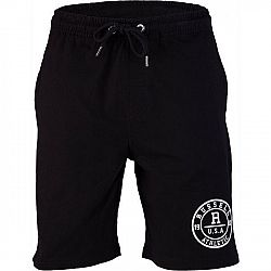 Russell Athletic ROSETTE PRINTED SHORT čierna XXL - Pánske šortky