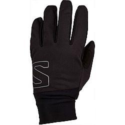 Salomon EQUIPE GLOVE U modrá M - Zimné rukavice