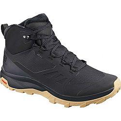 Salomon OUTSNAP CSWP čierna 11 - Pánska zimná obuv