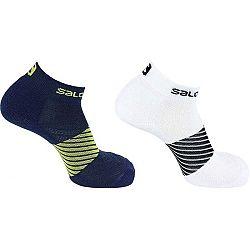 Salomon SOCKS XA 2-PACK čierna M - Ponožky