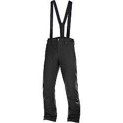 Salomon STORMSEASON čierna 2XL - Pánske lyžiarske nohavice