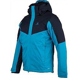 Salomon STORMSEEKER JKT M červená M - Pánska lyžiarska bunda