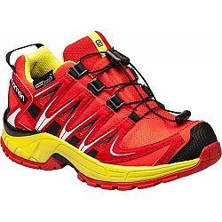Salomon XA PRO 3D CSWP J červená 34 - Detská bežecká obuv