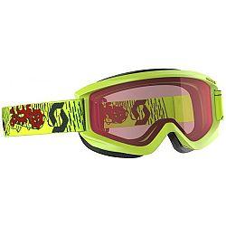 Scott AGENT JR čierna  - Detské lyžiarske okuliare