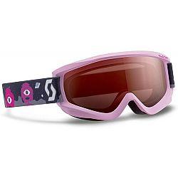 Scott JR AGENT SGL PINK červená  - Detské lyžiarske okuliare