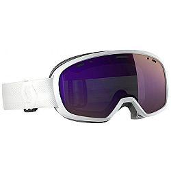 Scott MUSE PRO biela  - Lyžiarske okuliare pre malú a strednú tvár