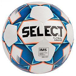 Select FUTSAL MIMAS biela 4 - Futsalová lopta