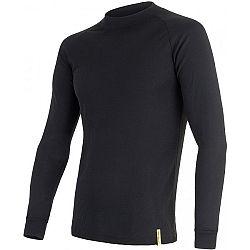 Sensor BLACK ACTIVE DR M čierna XL - Pánske funkčné tričko