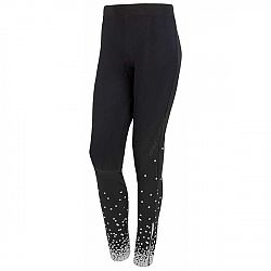 Sensor DOTS čierna L - Dámske športové  nohavice