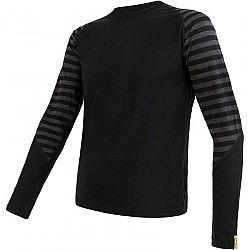 Sensor MERINO ACTIVE M čierna M - Pánske tričko