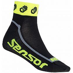 Sensor RACE LITE ružová 6-8 - Cyklistické ponožky