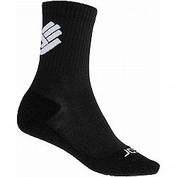 Sensor RACE MERINO BLK biela 9-11 - Ponožky