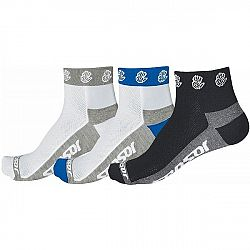 Sensor RUČIČKA 3-PACK biela 3-5 - Cyklistické ponožky