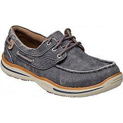 Skechers ELECTED-HORIZON tmavo modrá 45 - Pánska voľnočasová obuv